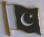 Pakistan Country Flag Enamel Pin Badge